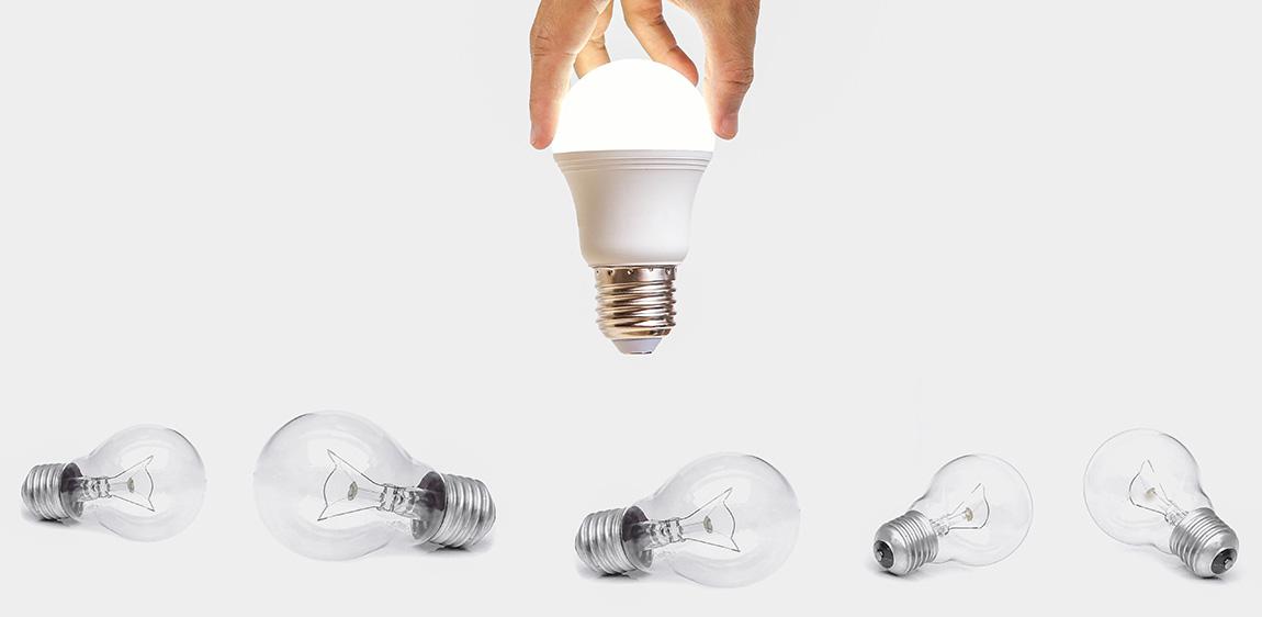 LEDの「W相当」と「ルーメン(lm)」の違い